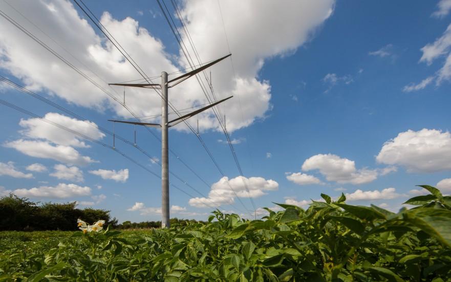 Eagle Pylon overhead line structures