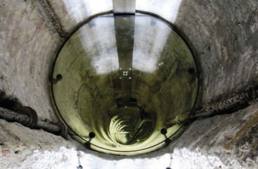 Glasgulv i Rundetårn