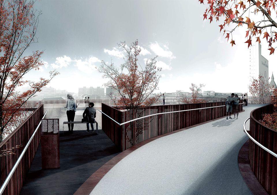 Landgangen Footbridge