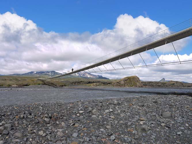 markarfljot footbridge