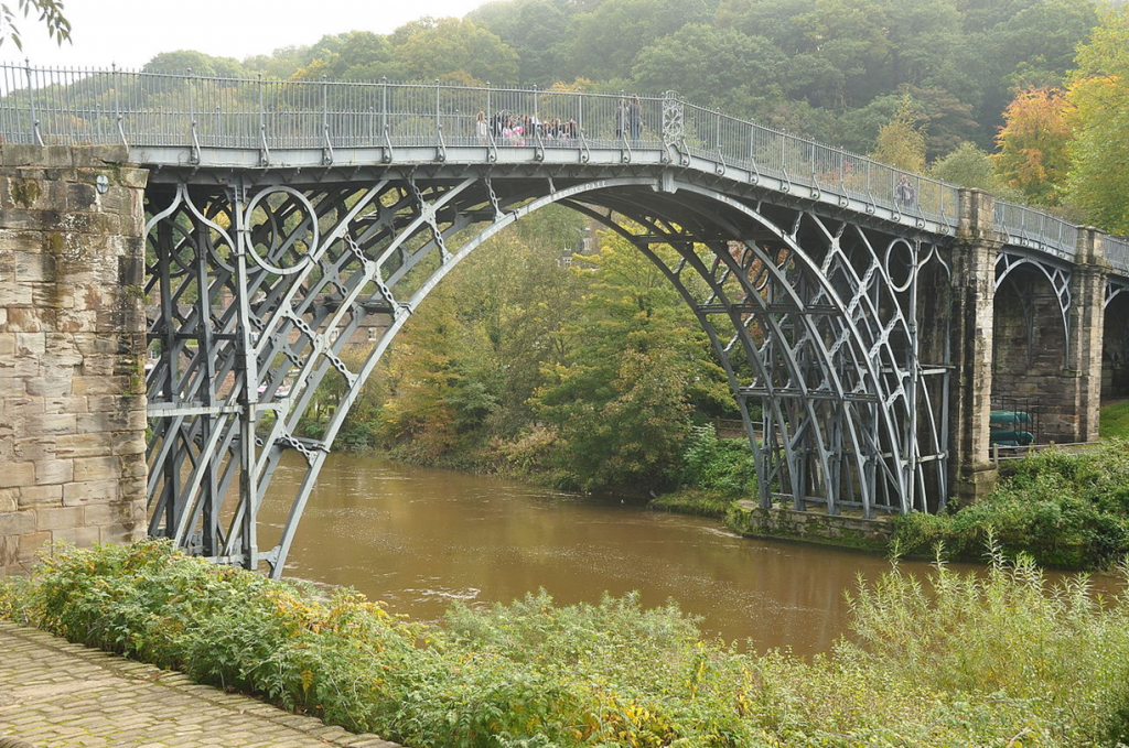 old english steel bridge