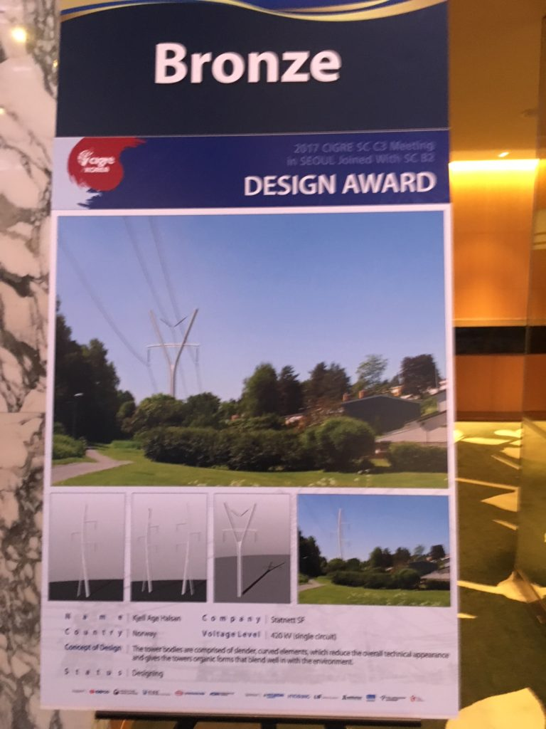 Cigré pylon award 2017 bronze