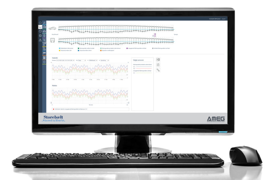 storebæltsbroen great belt bridge monitoring software