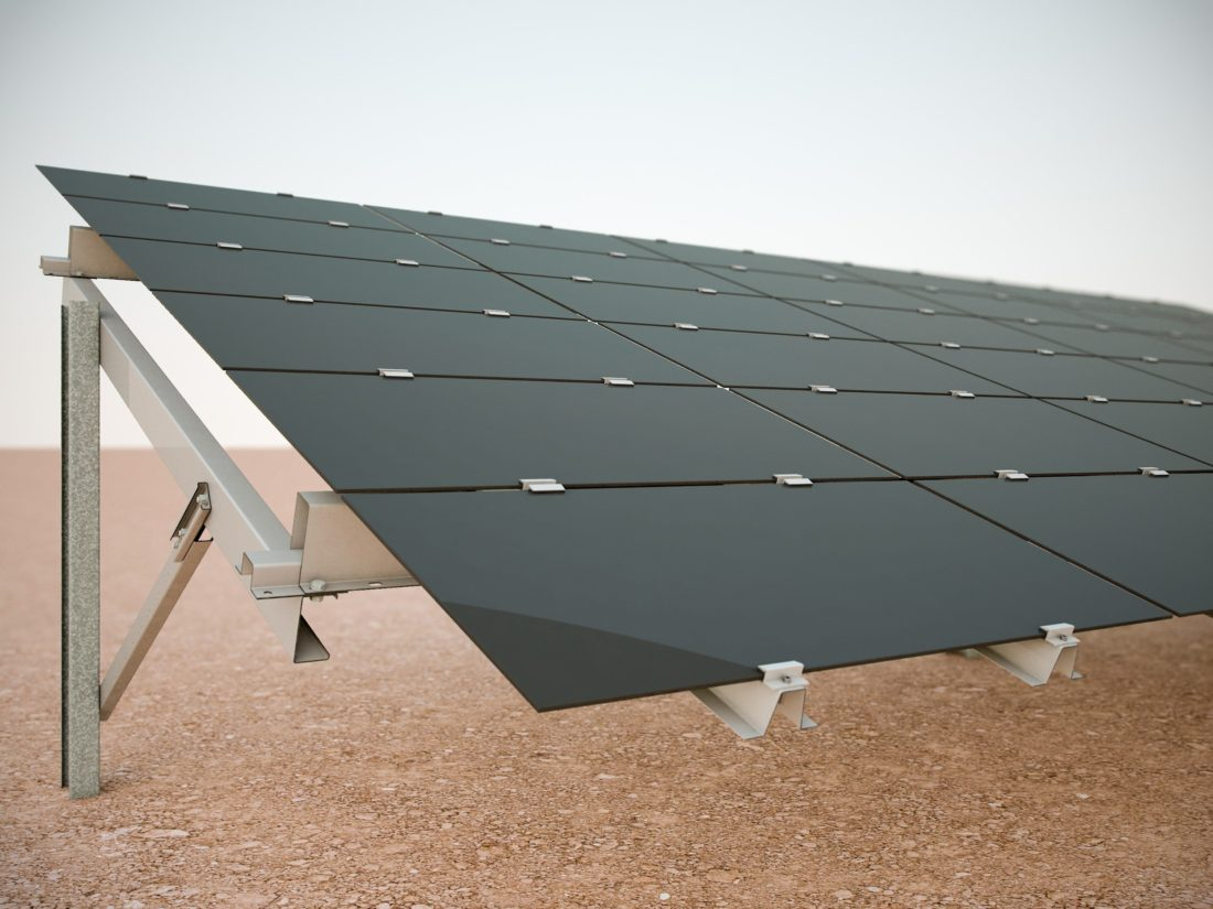 GreenGo solarpanel finished