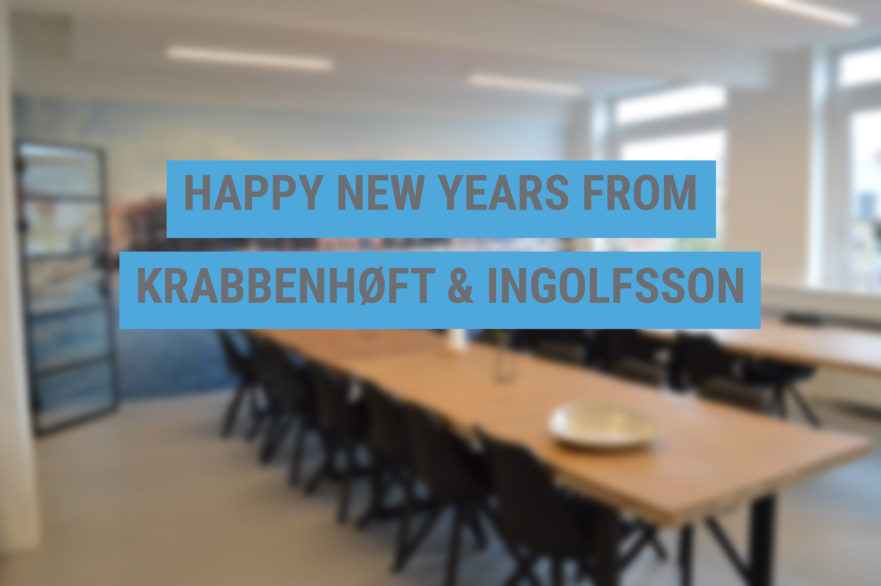 Happy New Years from Krabbenhøft & Ingolfsson