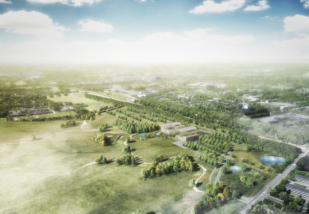 Novozymes Innovation Campus overview