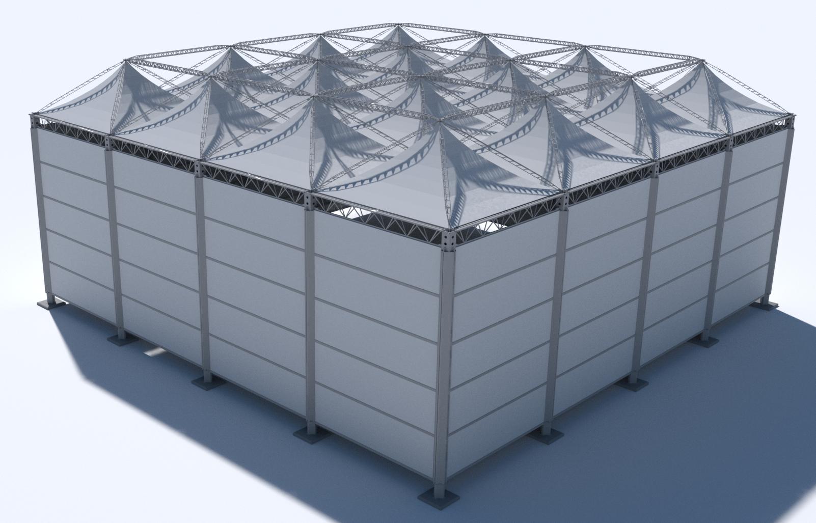SiteCover 3D model