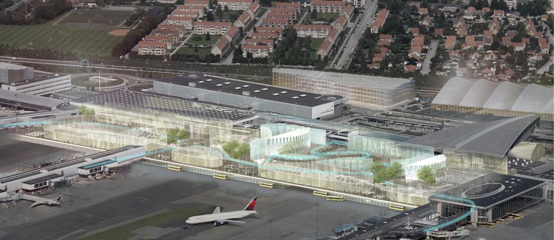 CPH Airport Terminal 2 expansion
