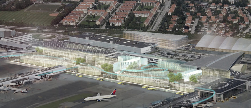 CPH Airport Terminal 2 expansion