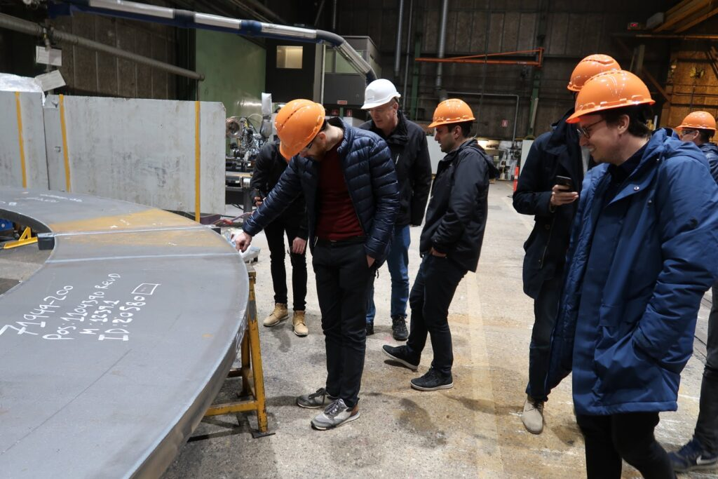 valmont sm company trip factory tour