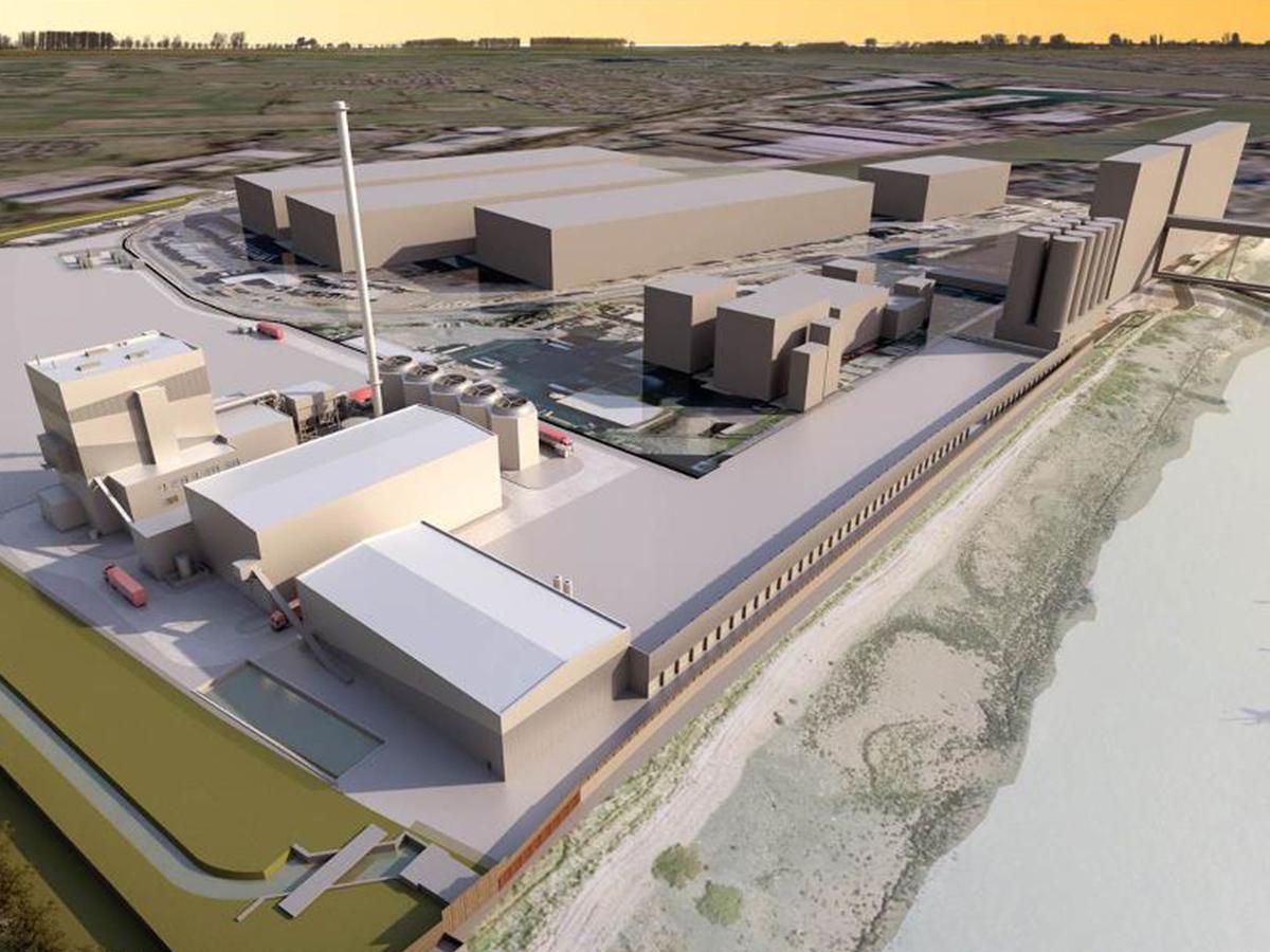 tilbury green power facility