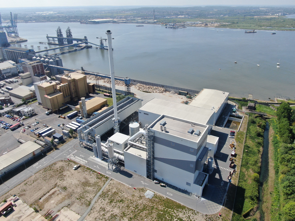 tilbury green power facility