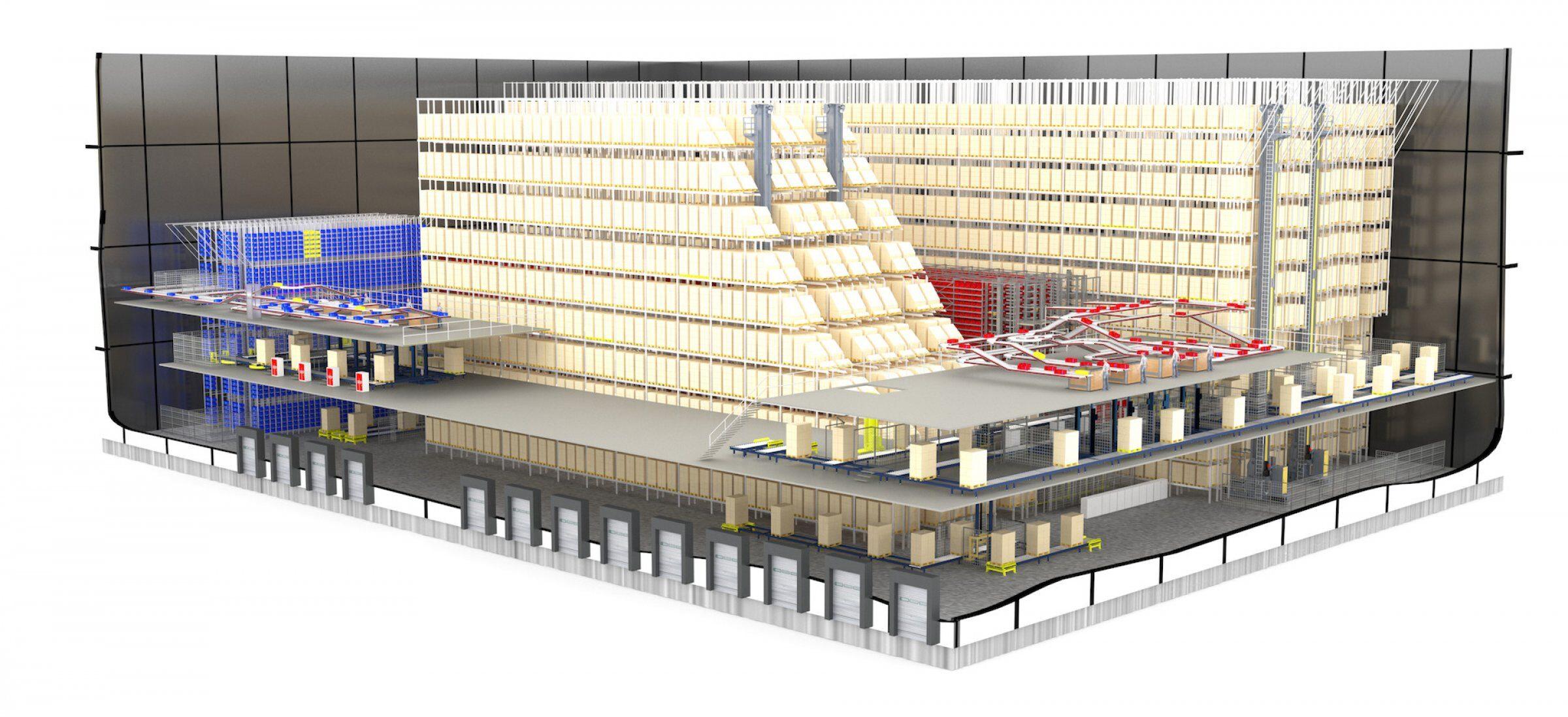 3D warehouse logistics