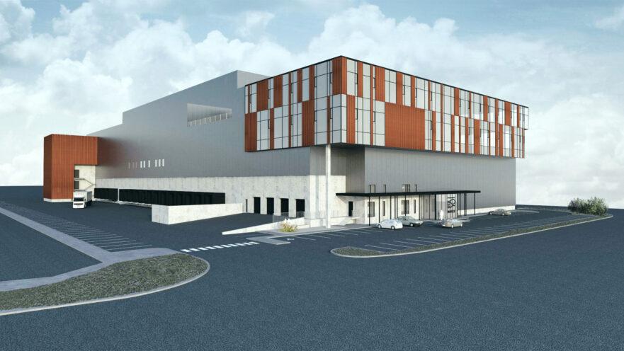 Innnes distribution center reykjavik