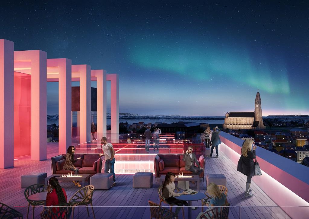 Radisson Red Reykjavik view