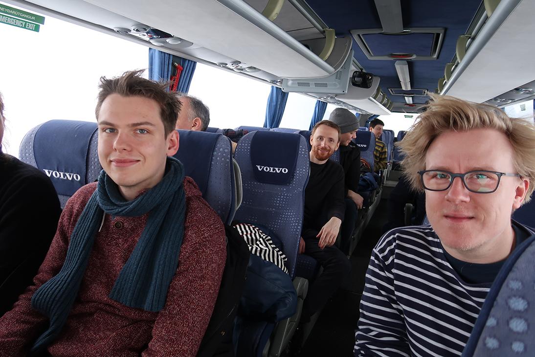 engineers study trip iceland