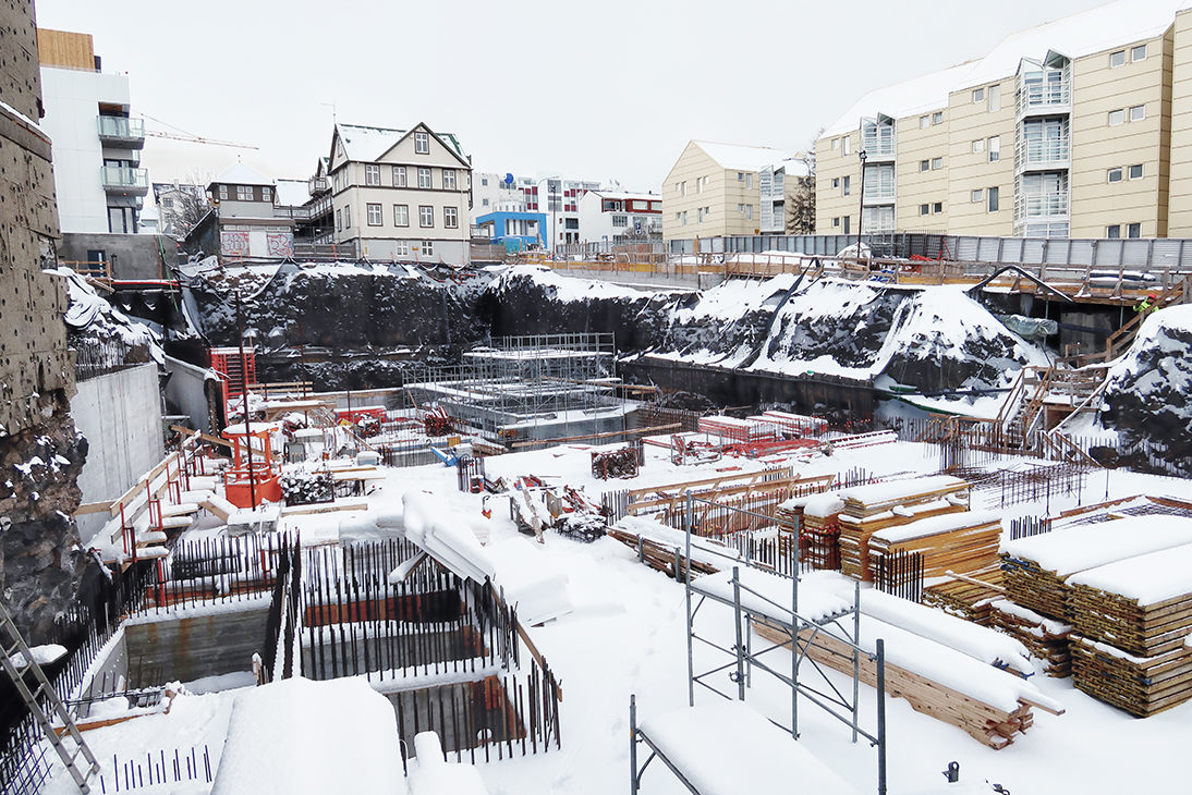 radisson red reykjavik byggeplads