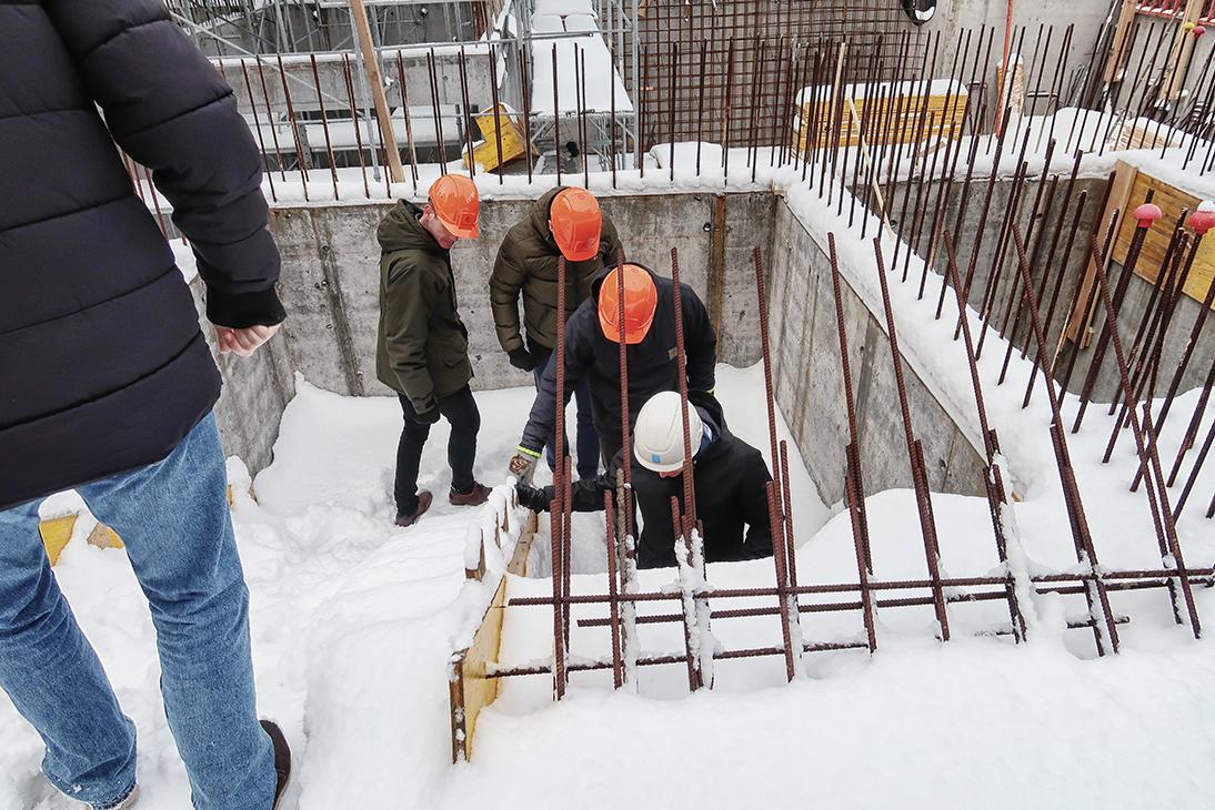 radisson red reykjavik constrcution site