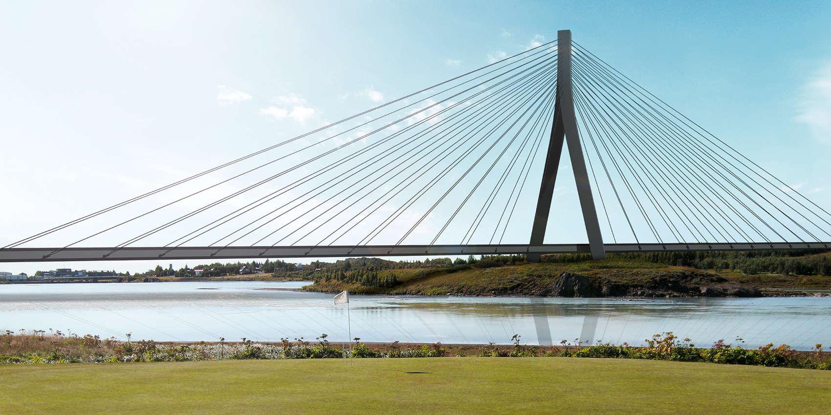 ölfusá bridge iceland