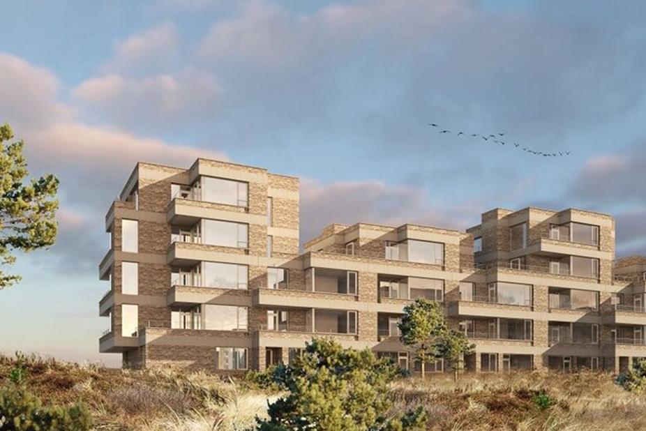 Tuborg Syd Bakkedraget luxury apartments