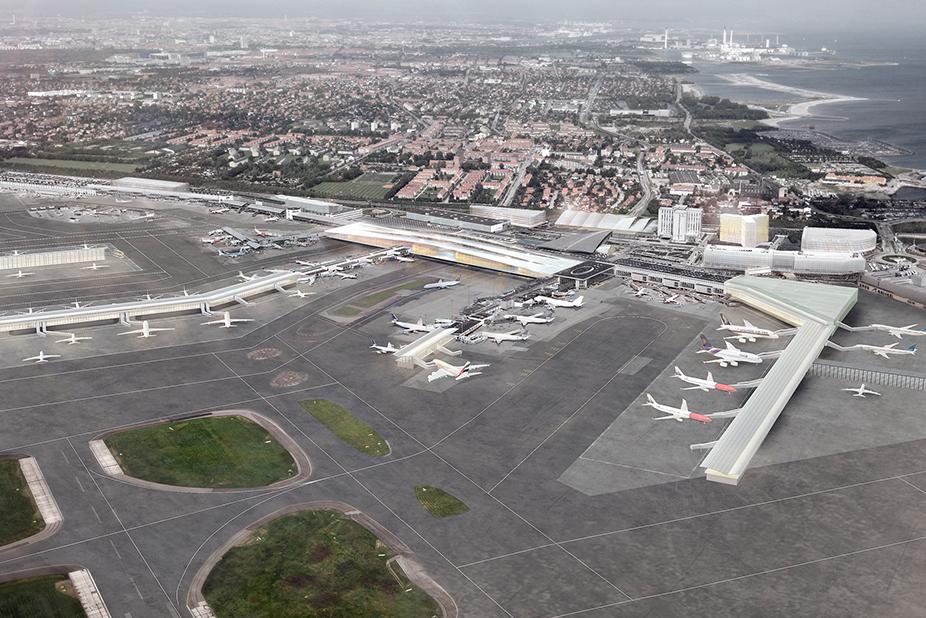 Københavns lufthavn terminal 2 finger E