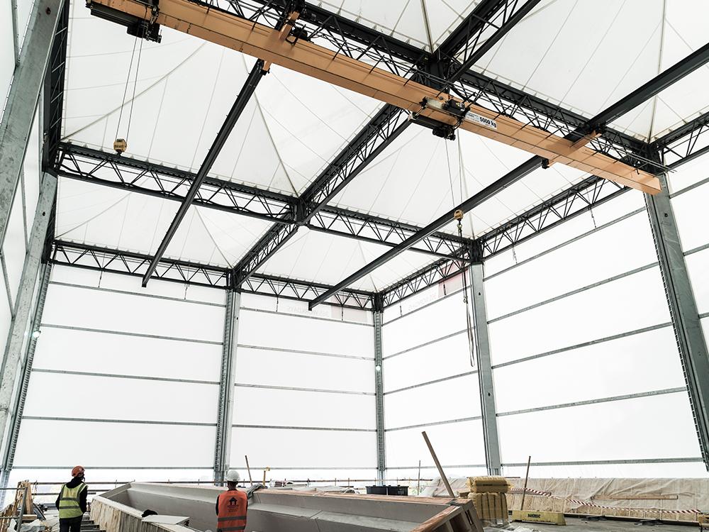 construction site tent