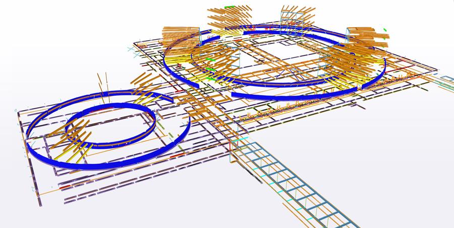 kompositkonstruktion herlev hospital udvidelse