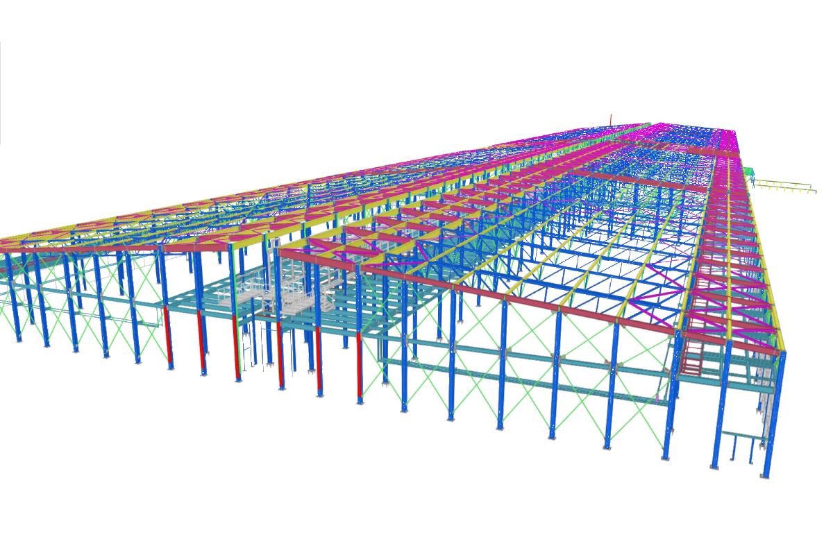 steel constructions industry