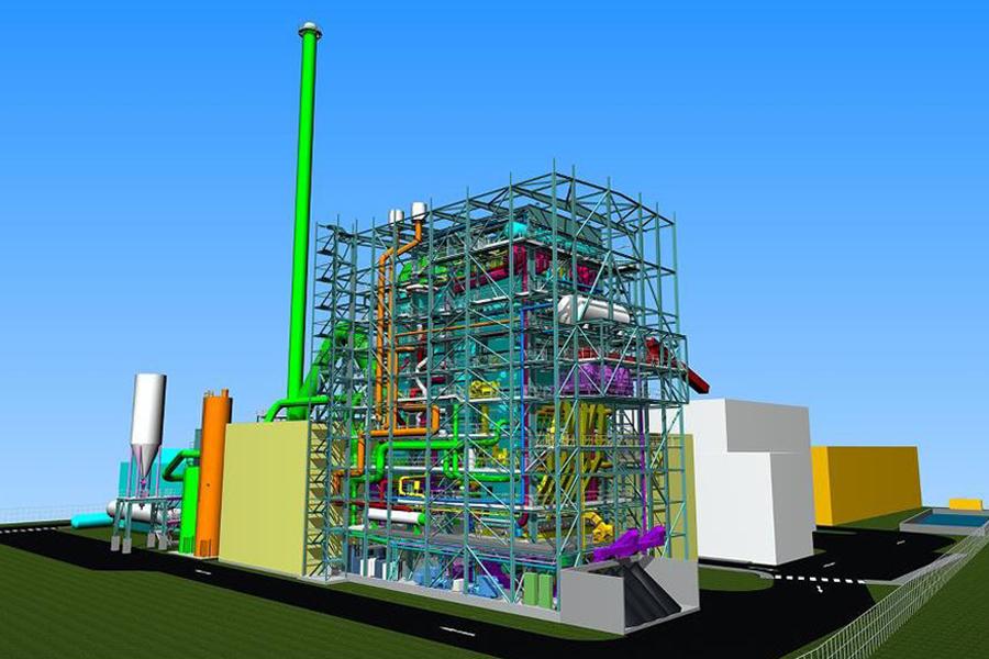 grøn energi kraftværk